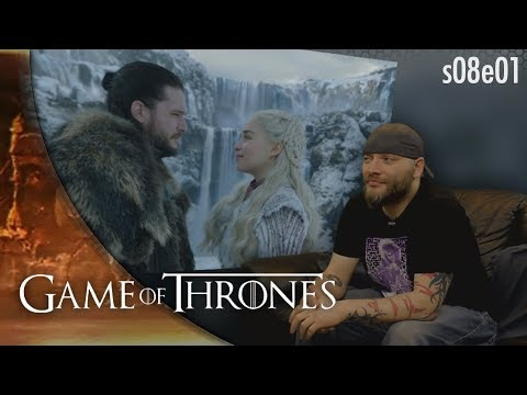Game of Thrones: 8x1 'Winterfell' REACTION