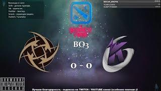 [RU] Ninjas in Pyjamas vs. Keen Gaming - The Bucharest Minor BO3 @4liver_r