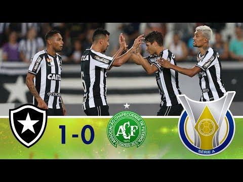 Melhores Momentos - Botafogo 1 x 0 Chapecoense - Campeonato Brasileiro - (26/07/2018)