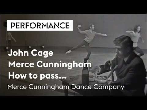How to pass..., John Cage en Merce Cunningham, Holland Festival 1967