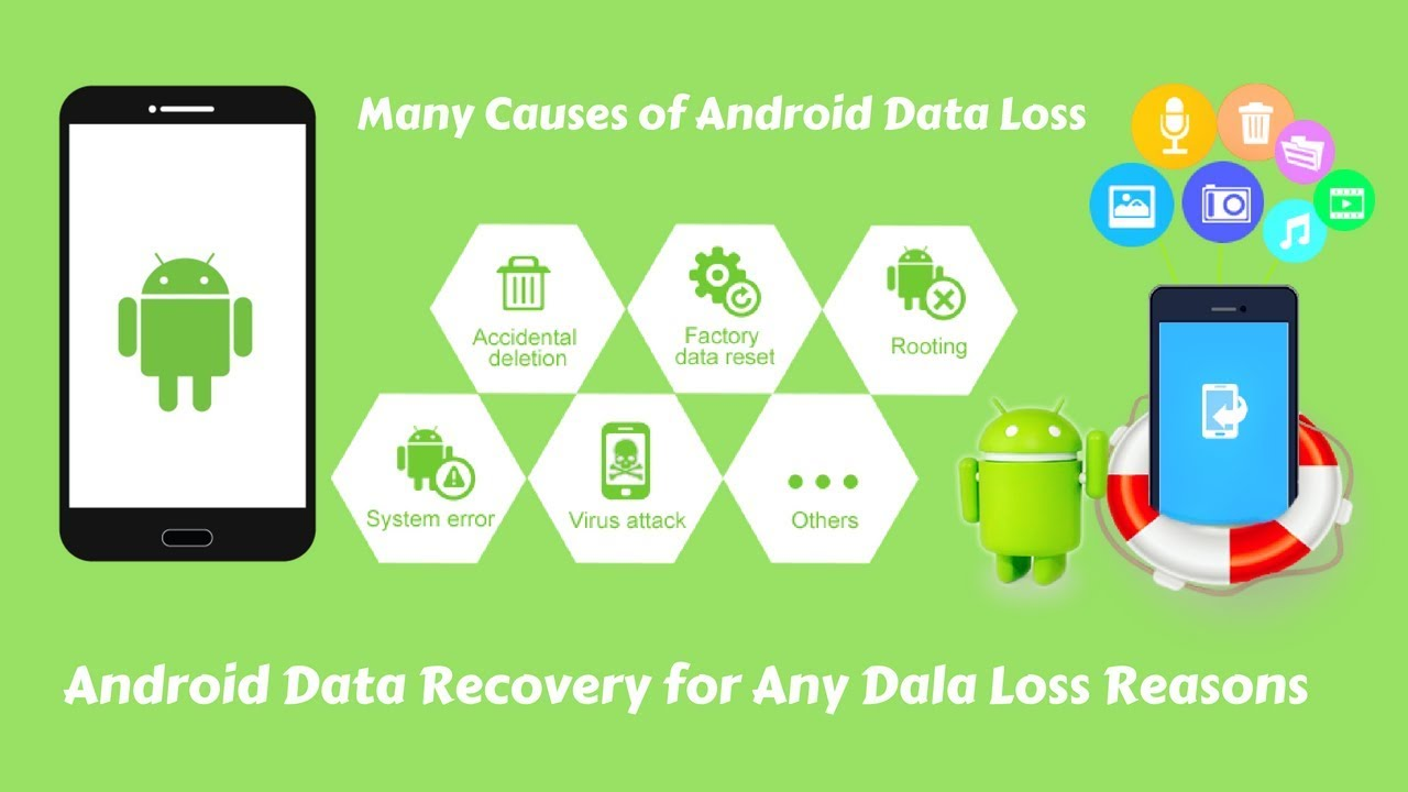 Android Data Recovery:How to Recover Deleted Files from Android