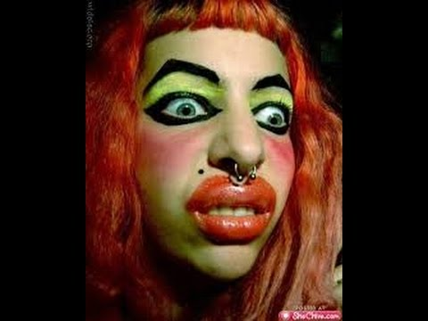 Worlds Worst Makeup fails - YouTube