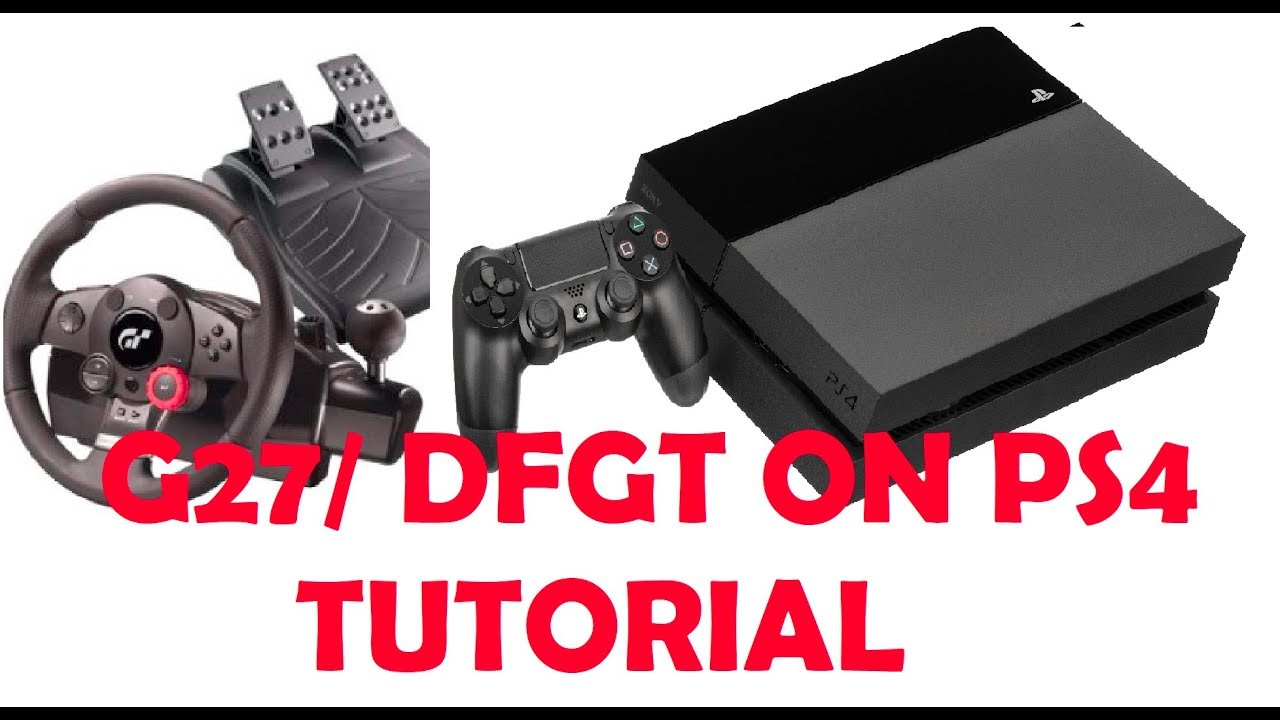 How To Hook Up Your Driving Force Gt G27 On Ps4
