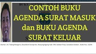 Download lagu CONTOH BUKU AGENDA SURAT MASUK  DAN SURAT KELUAR