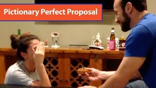 Game of Pictionary Turns into Marriage Proposal