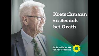 Biomusterregion - Winfried Kretschmann Zu Besuch Bei Martin Grath
