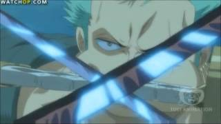 One Piece Zoro Vs Hordy Eng Subs