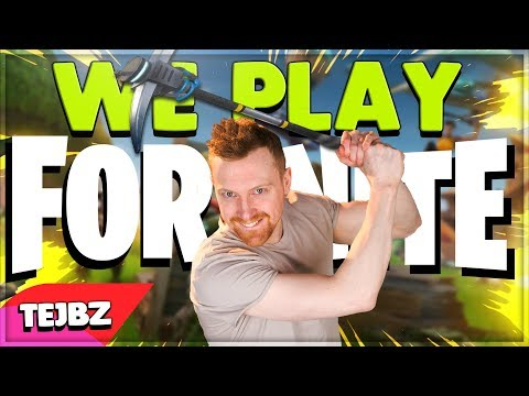 We Play Fortnite - Tejbz .Feat RoWzell Official Song Music Video