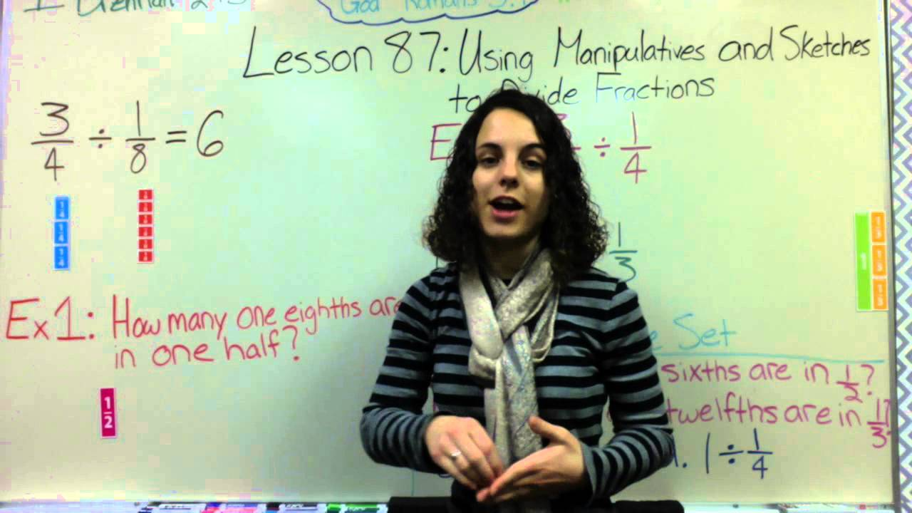 how to add fractions using manipulatives