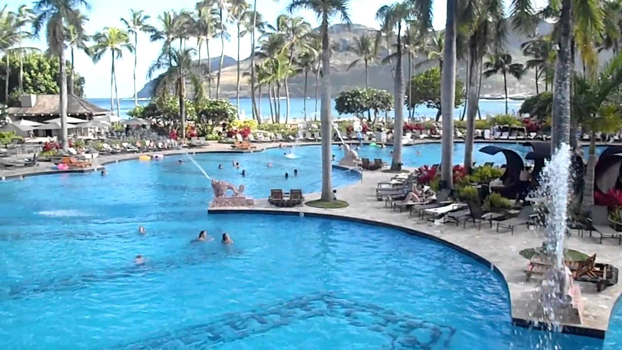 Kauai Marriott Beach Club Pool