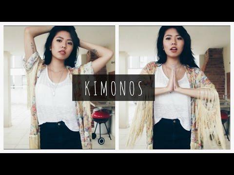 KIMONOS: Como eu