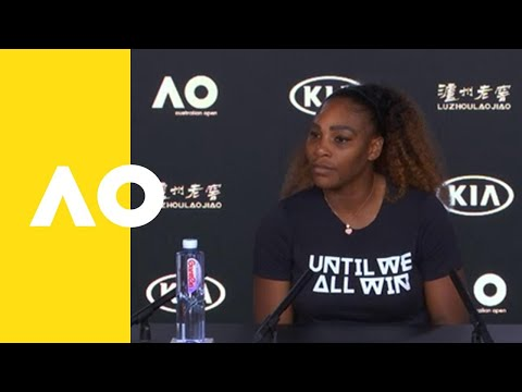 Serena Williams press conference (1R) | Australian Open 2019
