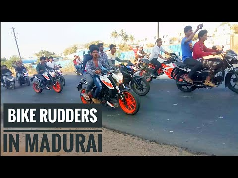 KTM Orange day cancel by madurai bike rudely
