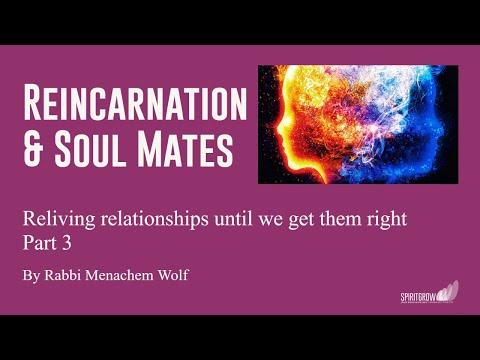 Transcendental Kabbalah Reincarnation and Soul Mates - Part 3 - By Rabbi Menachem Wolf 27/02/2017