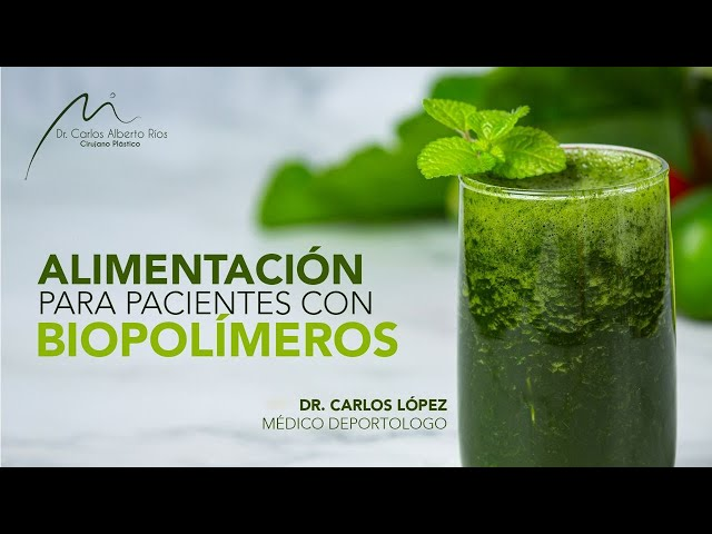 🥦 Alimentación adecuada para pacientes con biopolímeros