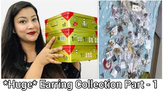 My *Huge* Earring Collection 😍🙈 Part - 1 | Cherry's World |