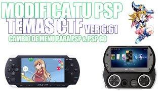 MODIFICA TU PSP - TEMAS CTF 6.61 PSP
