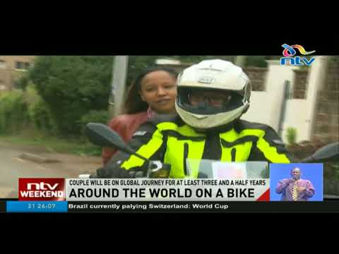 Kenyan couple embarks on the adventure of a lifetime