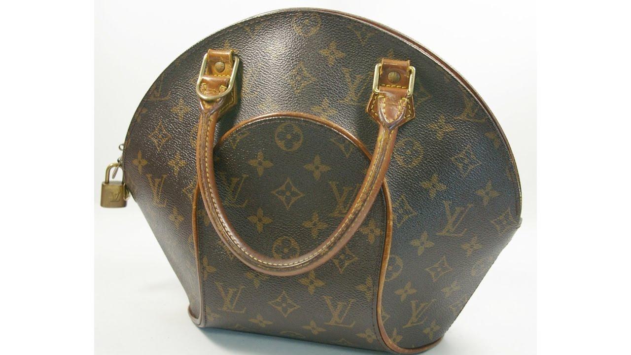 aa4a2e8296e Authentic Louis Vuitton Ellipse PM Monogram M51127 Packing Video LA050