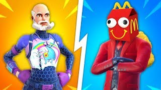 Top 10 UGLIEST Fortnite Skins THAT SHOULD NEVER BE ADDED!