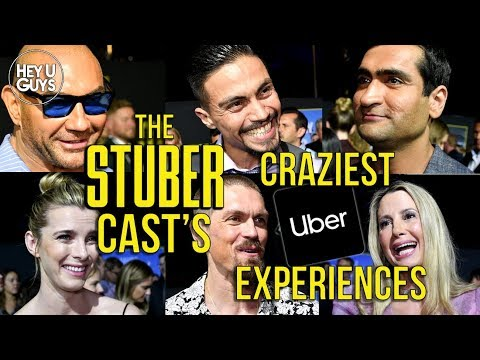 The Stuber Cast tell us their Craziest Uber Experiences