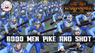 6000 MEN PIKE AND SHOT - Total War Warhammer 2 - Online Battle 358