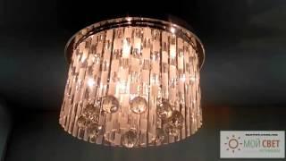 видео Галогеновые купольные светильники