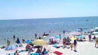 Кирилловка. Центральный пляж 02.07.2015. г/д Алекс(, 2015-07-02T09:42:39.000Z)