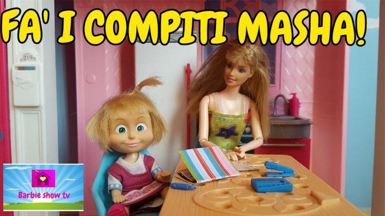Le avventure di masha i compiti masha full for Masha giocattolo