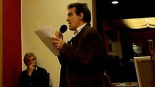 Antonio Saura lee sus poemas en El Último Jueves