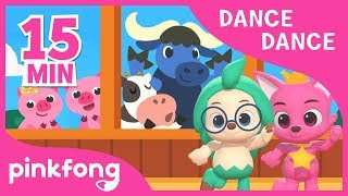 Old MacDonald and more | +Compilation | Dance Dance | Nursery Rhyme | Pinkfong Songs for children