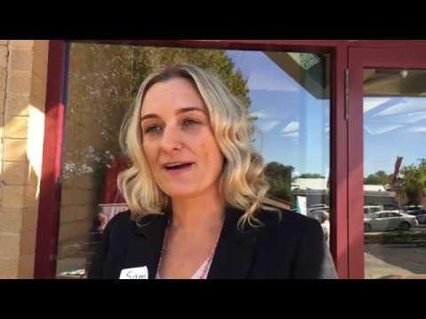 Samantha Bowker at the 2018 Futures Forum