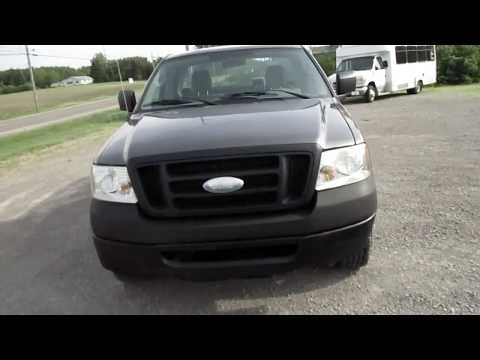 2008 Gray /Gray Ford F-150 (1FTRF12288K) with an 4.2L V6 OHV 12V engine, located at 1725 US-68 N, Bellefontaine, OH, 43311, (937) 592-5466, 40.387783, -83.752388 - Photo #0