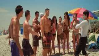 Jersey Shore Massacre - Brett Azar shirtless on the beach