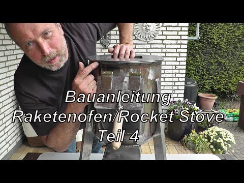 bauanleitung raketenofen rocket stove teil 4 ibowbow. Black Bedroom Furniture Sets. Home Design Ideas