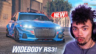 GTA 5 Online - NEW Obey Tailgater S CUSTOMIZATION! (Audi RS3)