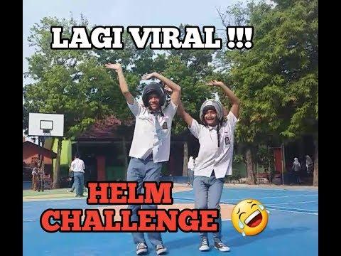 Lagi VIRAL !!! Goyang Pake Helm !! Helm Dance Challenge __ Joget Haters tai kambing