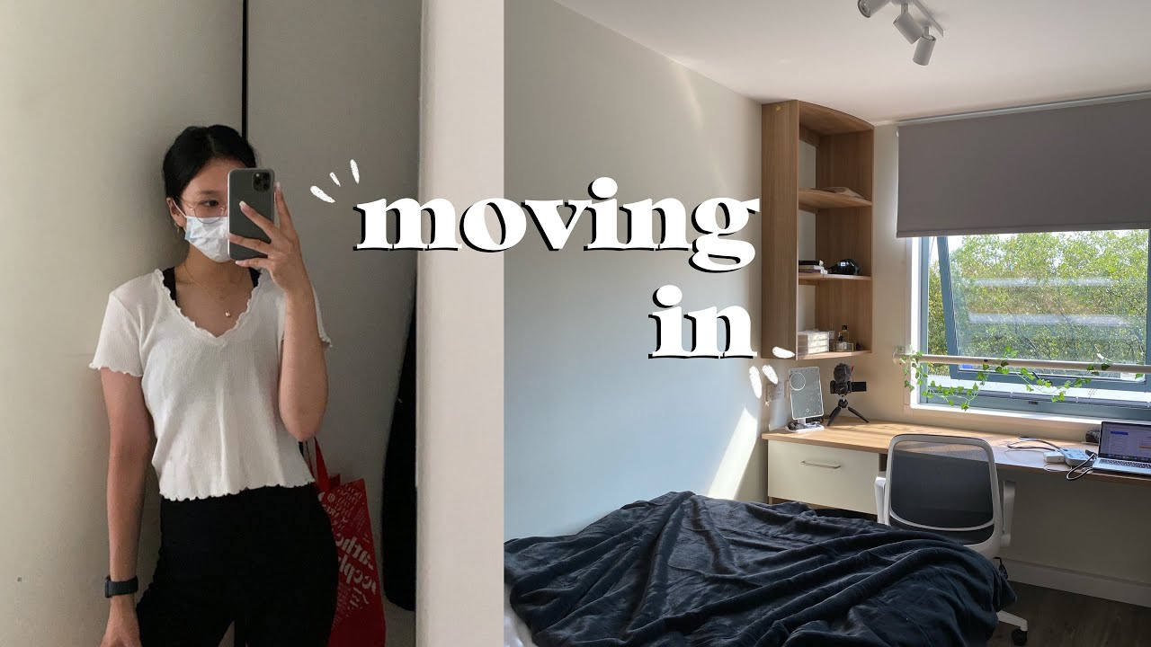 MOVING IN VLOG! studying in London 2020