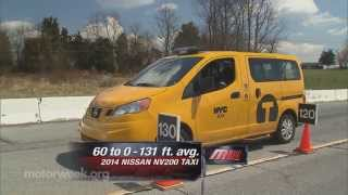 MotorWeek | Road Test: 2014 Nissan NV200 Taxi