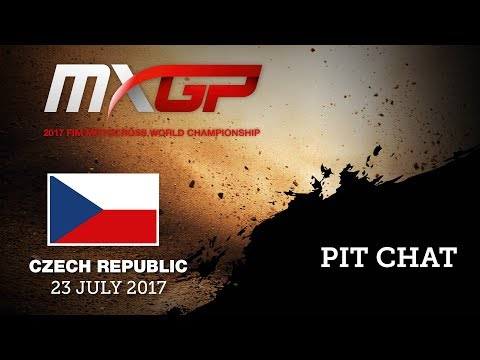 MXGP of Czech Republic Loket 2017 Pit Chat with THOMAS COVINGTON