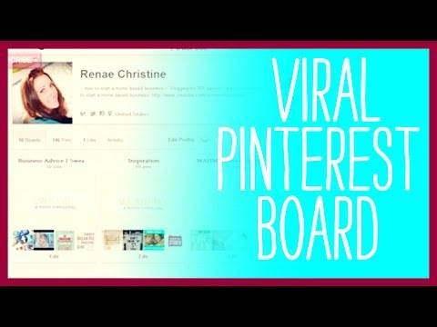 Viral Pinterest Board - How to Share a Pinterest Board