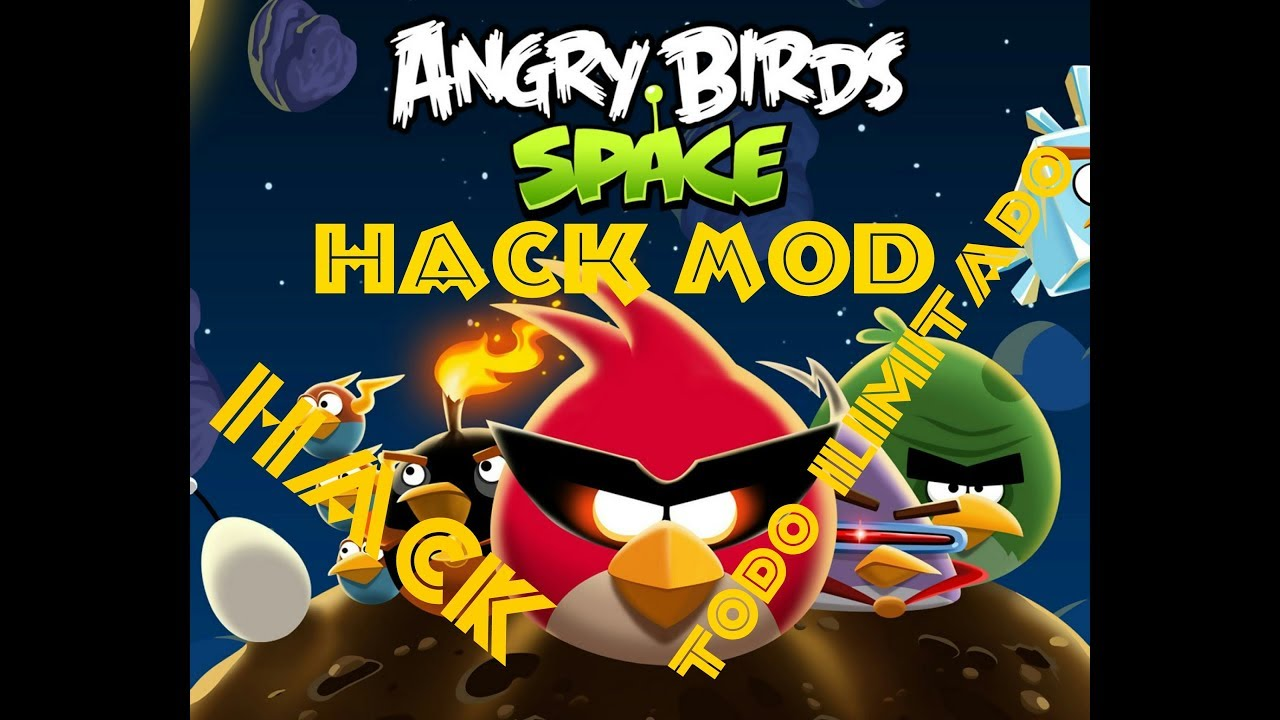Angry bird space hack mod - YouTube