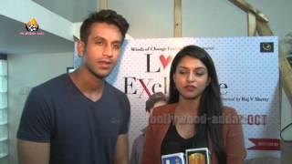 love exchange movie 2015 exclusive interview actor mohit madan actress jyoti sharma