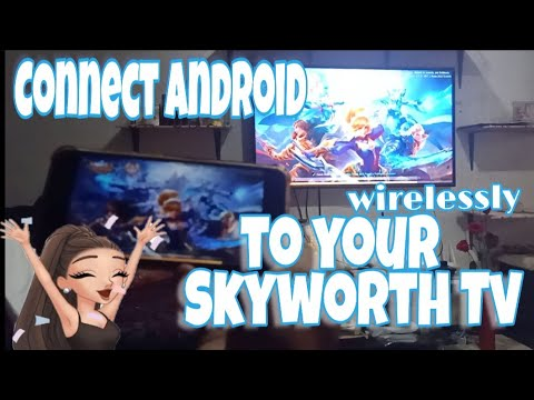 How to connect mobile display to tv wireless