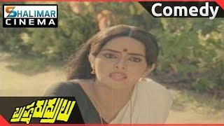 Brahma Rudrulu Movie || Venkatesh &  Rajini Funny  Comedy  || Venkatesh, ANR,  || Shalimarcinema