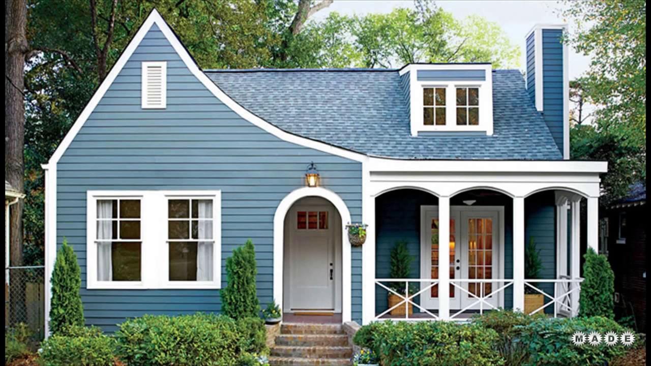 Attractive Blue Exterior Paint Colors Ideas Part 11
