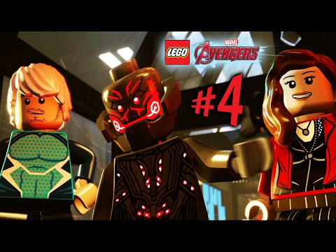 Lego Marvel Avengers - Parte 4: A Era de Ultron! [ Playstation 4 - Playthrough PT-BR ]
