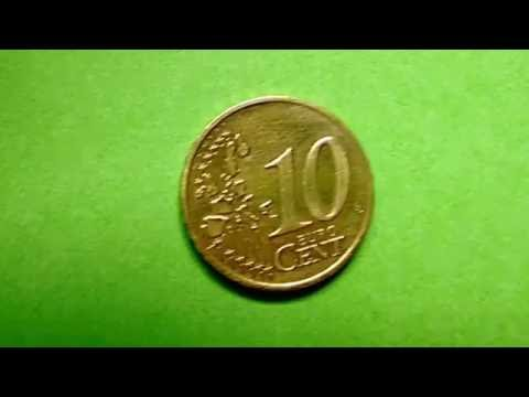 33 - Moedas - Moeda de 10 cents de Euro - Alemanha