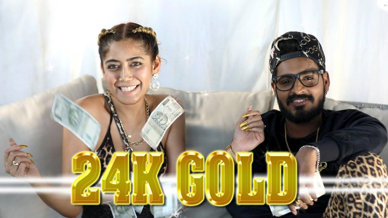 24K Gold - Official Music Video by Mukka K featuring Emiway (2018 rap song  / Bluesanova, Crazyvibe)