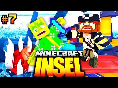 GEFRESSEN vom RIESEN KRAKEN?! - Minecraft INSEL #07 [Deutsch/HD]